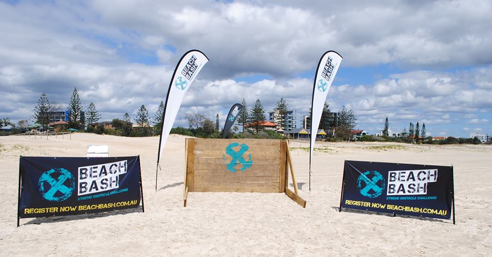 Get down and dirty at this year's Beach Bash Gold Coast
