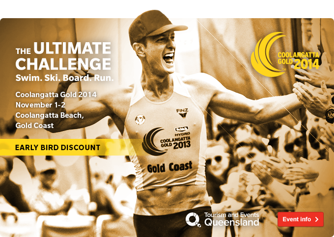 Join the Coolangatta Gold 2014
