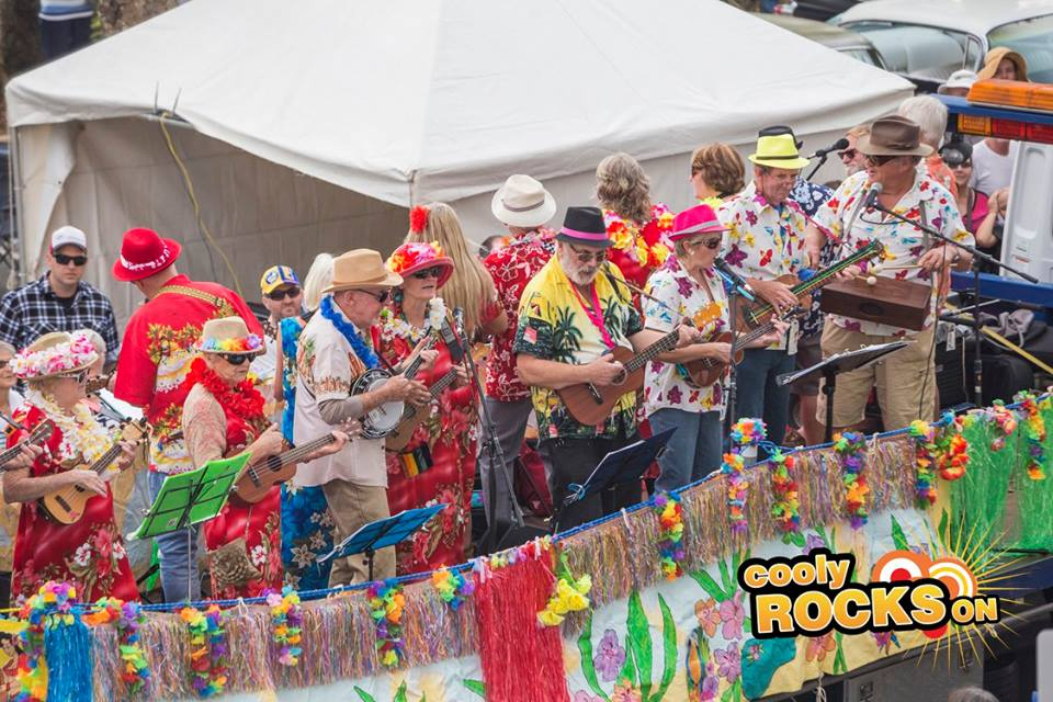 Blast from the Past with the Cooly Rocks On Festival at Coolangatta Beach
