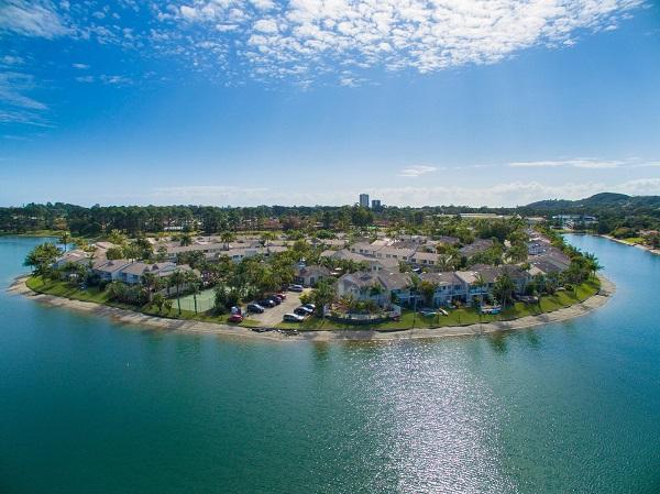 Isle of Palms Resort Aerial Gold Coast