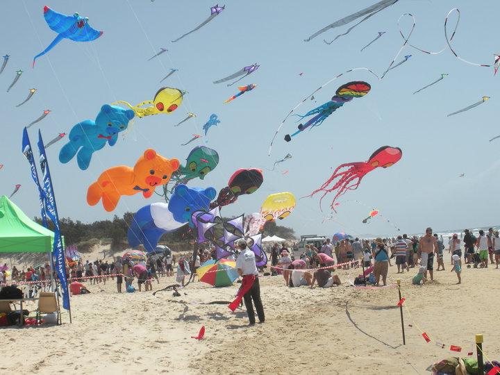See an Incredible Display of Kites on Kirra Beach this October