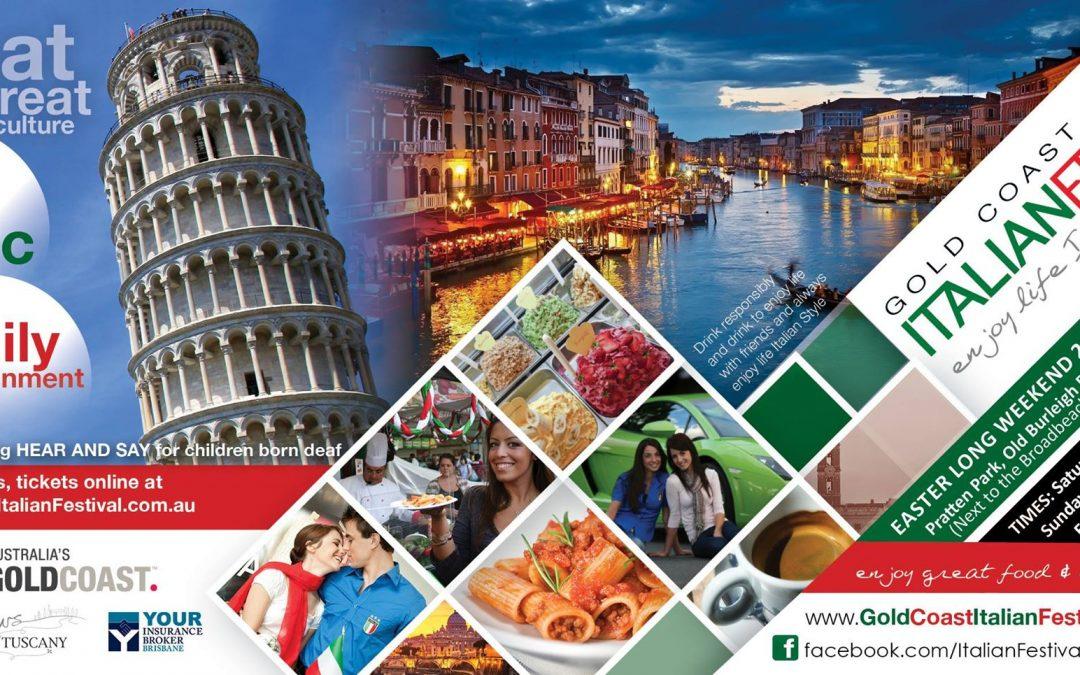 Experience an Italian Festival, Gold Coast Style!