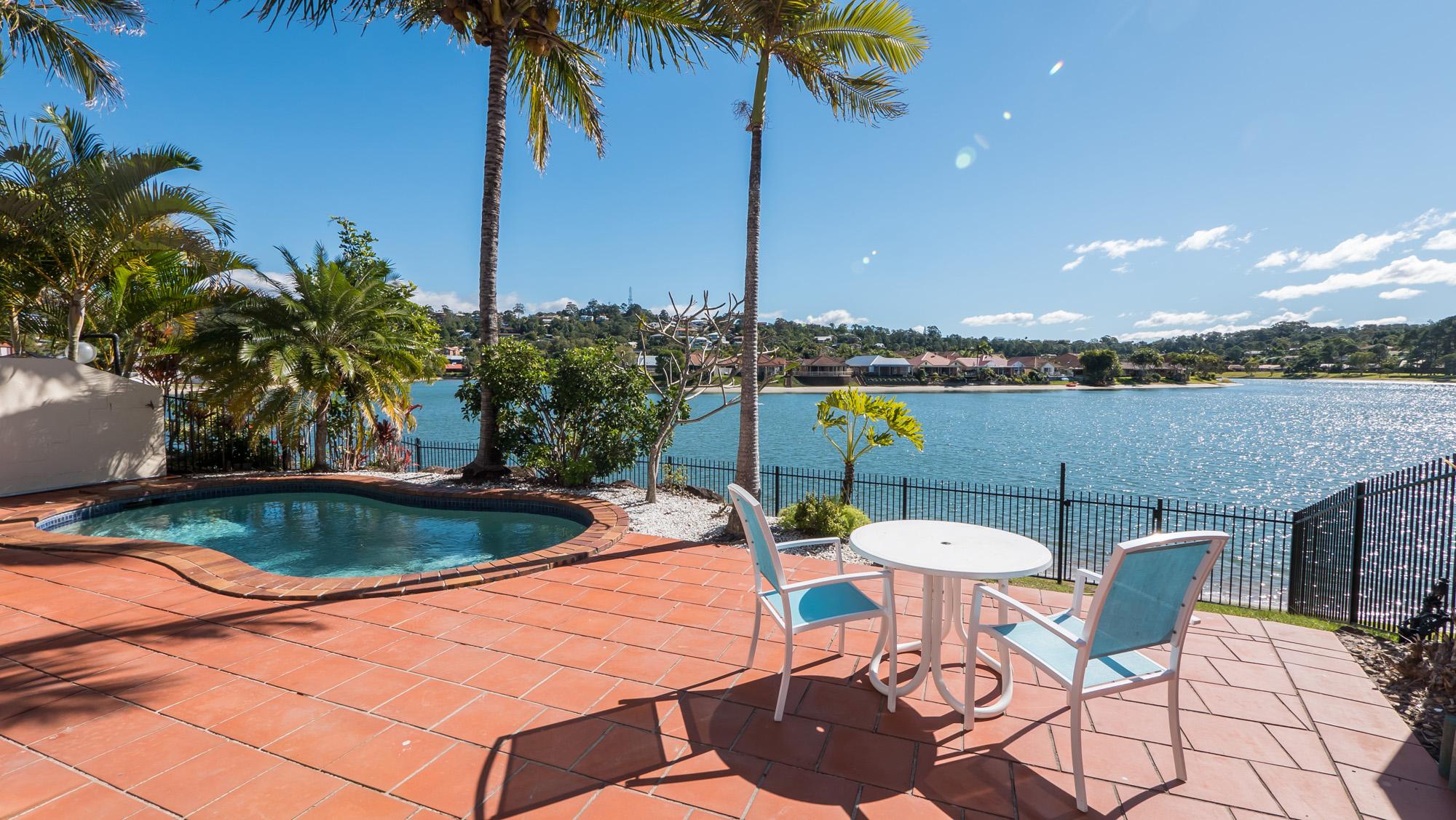 Isle Of Palms Resort Facilities - Pool Waterfront