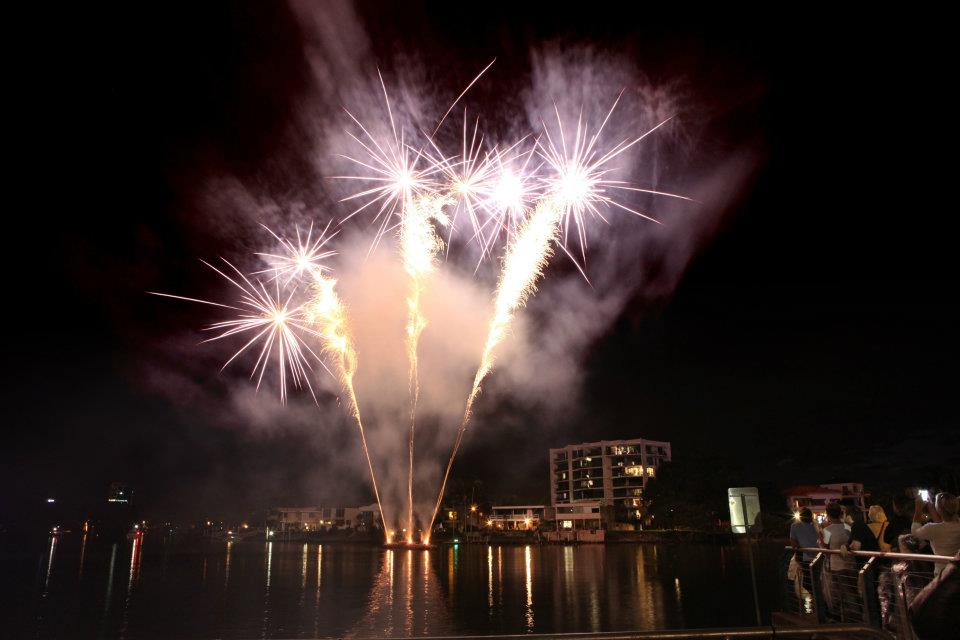 Experience a Fantastic Fireworks Display By the Seaside