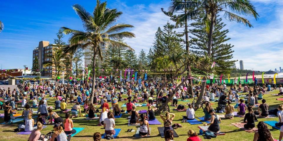 Don't Miss Yoga Day Festival in Burleigh Heads