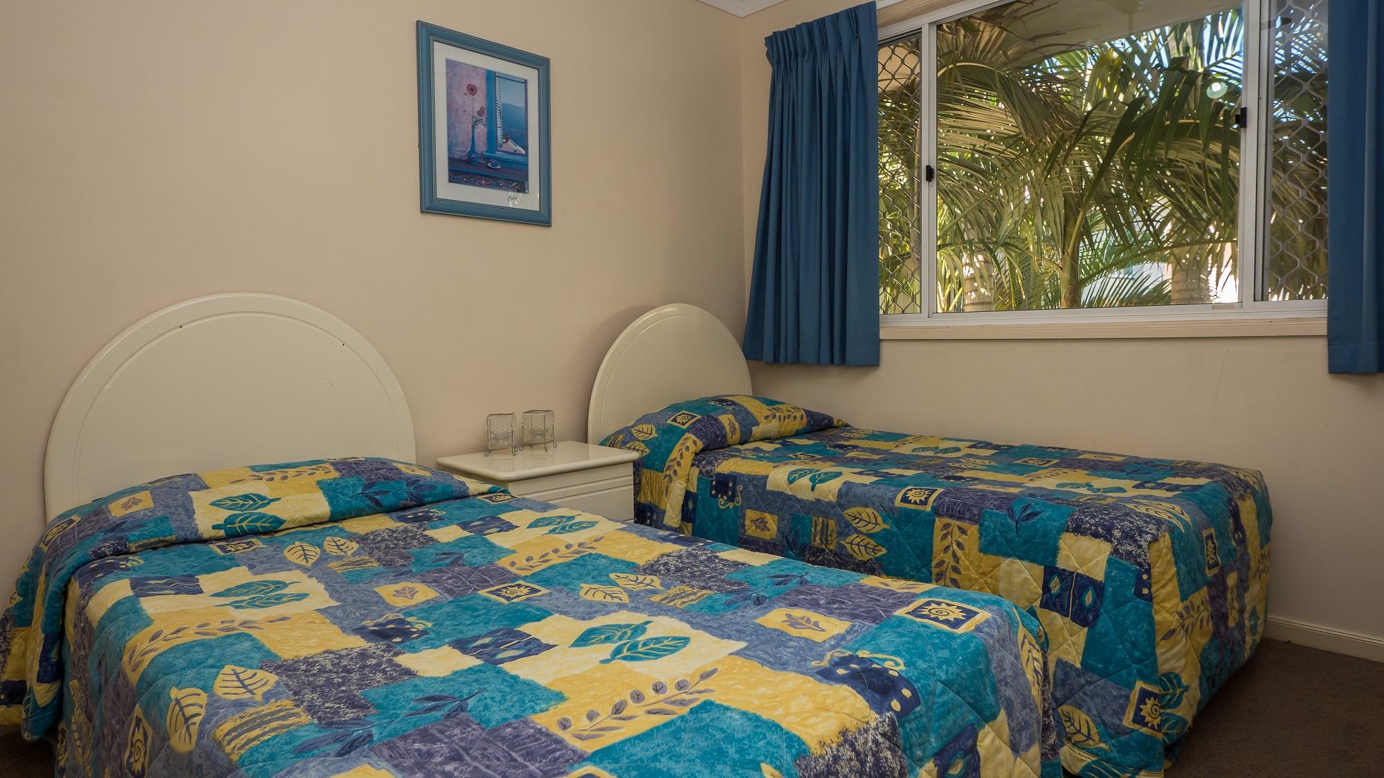 Isle of Palms Resort Accommodation - Bedroom